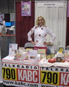 Susan at OC Home And Garden Show booth